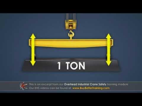 Overhead Crane Safety Training Sling Angle Youtube