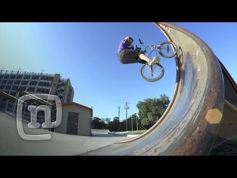 Ryan Nyquist Rare Air Throwback: Crooked World BMX - YouTube