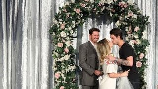 Kaley Cuoco Gets Married on 'Ellen'