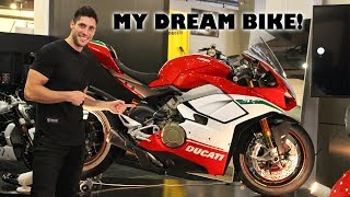 I Ordered a Ducati Panigale V4 Speciale!!!!