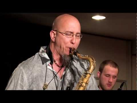 Jeff Coffin Is A Very Dangerous Man - Live at JEN 2013 with the Mega-Sax Ensemble