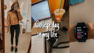 college day in my life: class, target, yoga, studying