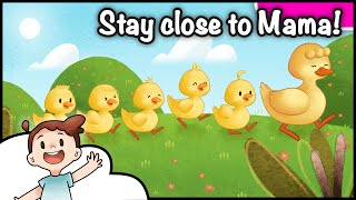 🦆 Five Little Ducks | Stay Close To Mama | Single | Nursery Rhymes