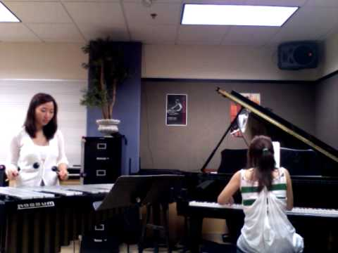 Anna kwun and her friend are practice and jam night for the concert.