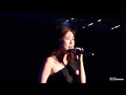 2013.11.01 Samsung Stars Love Concert - Zhang Liyin - Y (Why...) Fancam