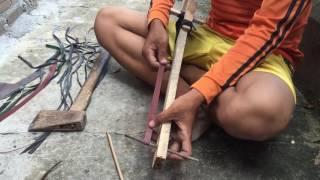 cách làm nỏ bắn cá