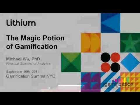 GSummit NYC 2011: Michael Wu - Unlocking the Hidden Motivational Power of Gamification