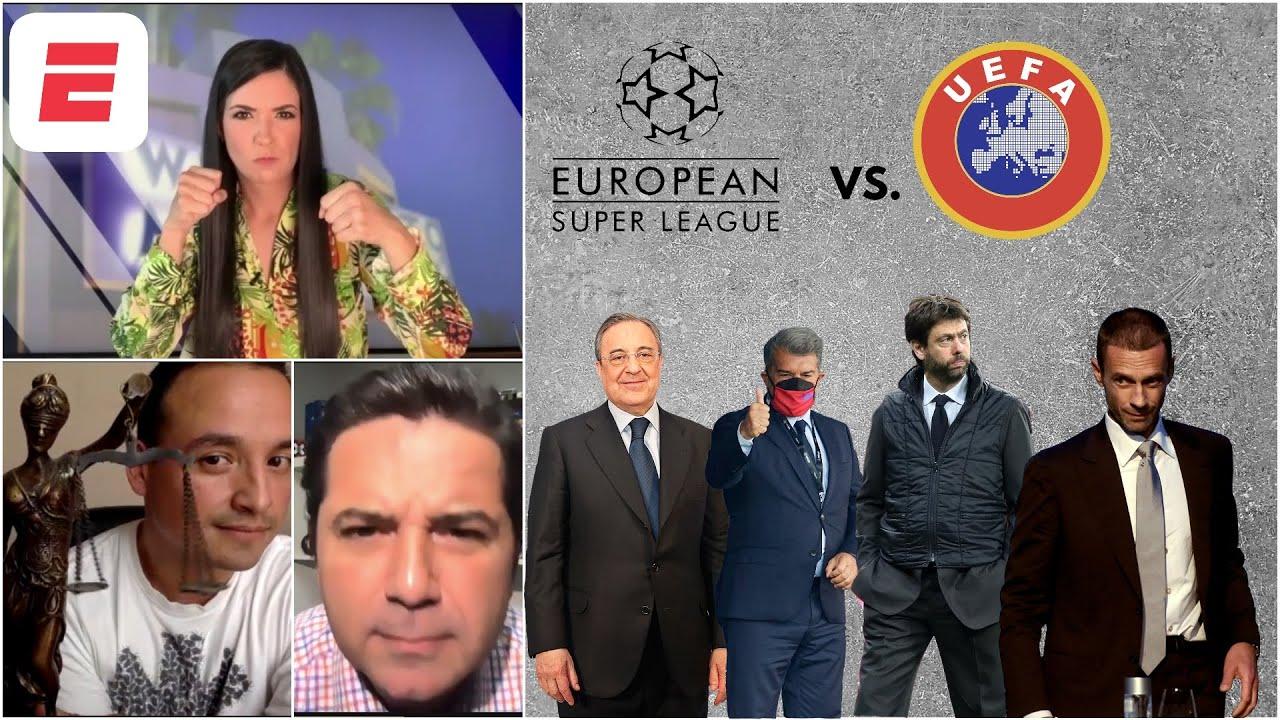 SUPERLIGA Real Madrid, Barcelona y Juventus le GANAN una BATALLA a la UEFA, por ahora. | Exclusivos