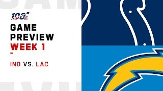 Indianapolis Colts vs. Los Angeles Chargers | Week 1 Game Preview | Move the Sticks