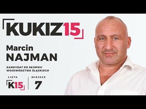 Marcin Najman kandyduje w wyborach samorządowych