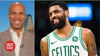 Are the Celtics better off without Kyrie Irving in the playoffs? | Golic and Wingo