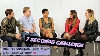 7 SECONDS CHALLENGE ft. Alexandra Shipp, Ben Hardy & Tye Sheridan || K4U.