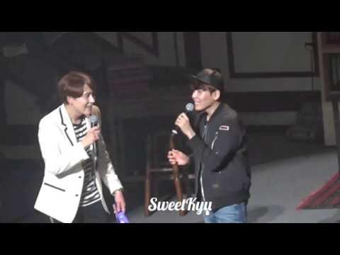160425 Kyuhyun Solo Tour ~Knick Knack~  Hanamizuki with Ryowook
