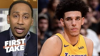 Stephen A. Smith: Lonzo Ball is 'starting to scare me' | First Take | ESPN