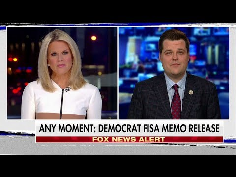 Rep. Gaetz: Republicans 'Fighting for Transparency' on Memos, FISA Surveillance