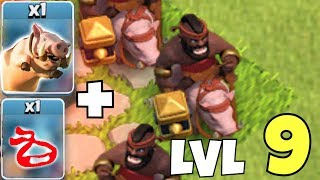 "NEW HOG RIDER LEVEL!!! ""Clash Of Clans"" NEW APRIL UPDATE!!"