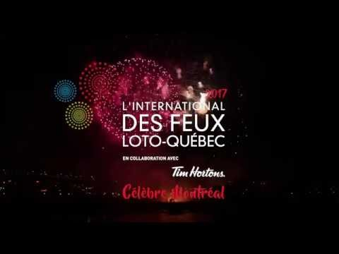 Video: L'International des Feux Loto-Québec 2017