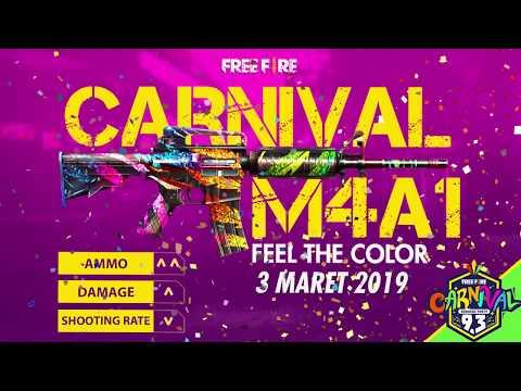 Nova Skin da M4A1 de Carnaval + Dano