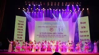Tự hào nhà giáo Việt Nam  - Top ca Giáo viên trường tiểu học Dịch Vọng B biểu diễn