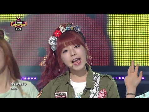 Juniel - Pretty Boy, 주니엘 - 귀여운 남자, Show Champion 20130508