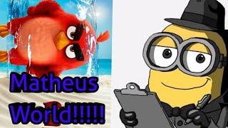 Brian O Minion E Os Minions Assistindo O Trailer Dublado De Angry Birds 2 - O Filme!!!!!