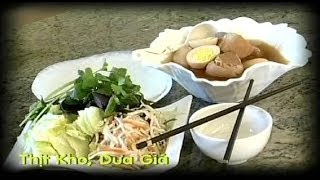 Thịt Kho Dưa Giá - Xuân Hồng
