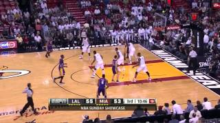 Kobe Bryant 28pts Highlight vs LeBron James Miam Heat 12/13 NBA