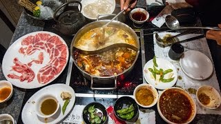 MOUTH-NUMBING Sichuan Hot Pot in Taipei, Taiwan (Day 9)