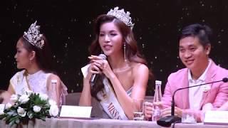 Minh Tú đại diện Việt Nam tham dự cuộc thi Hoa hậu siêu quốc gia 2018