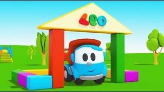 Compilation avec Léo le camion benne curieux - construction d'une maison