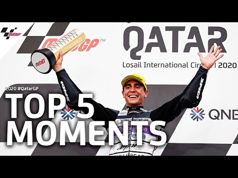 Top 5 moments of the 2020 QatarGP