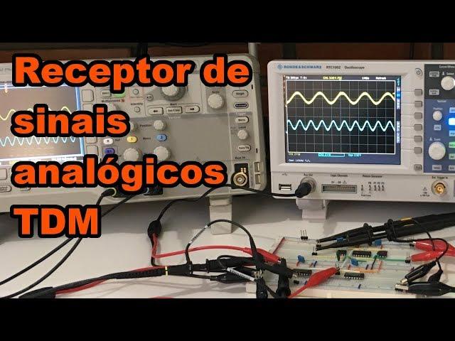 RECEPTOR DE SINAIS ANALÓGICOS TDM | Conheça Eletrônica! #136