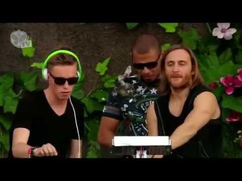 Afrojack x David Guetta x Nicky Romero - LIVE at Tomorrowland (28.07.2013)