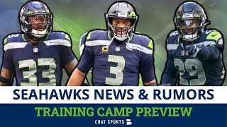 Seahawks Training Camp Preview: Top Roster Battles, Players To Watch, Jamal Adams + Russell Wilson