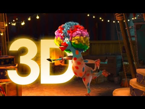 Madagascar 3 ~ Trailer 1 Oficial 3D Español Latino ~ FULL HD