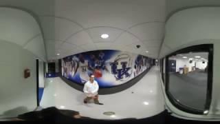 Take a 360º tour of the Kentucky Basketball locker room