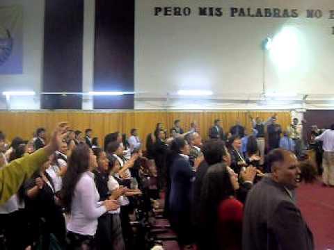 COROS PENTECOSTALES EN CONVOCATORIA DE COROS EN CRUZADA DE PODER