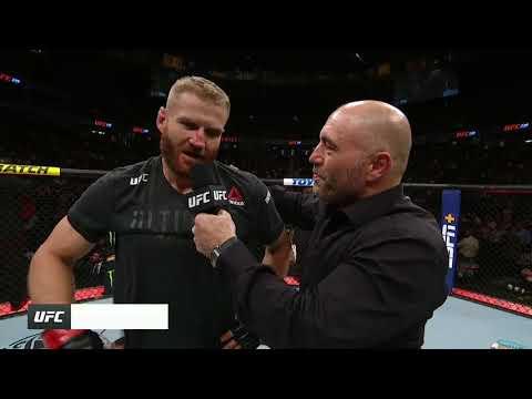 UFC 239: Jan Blachowicz Octagon Interview