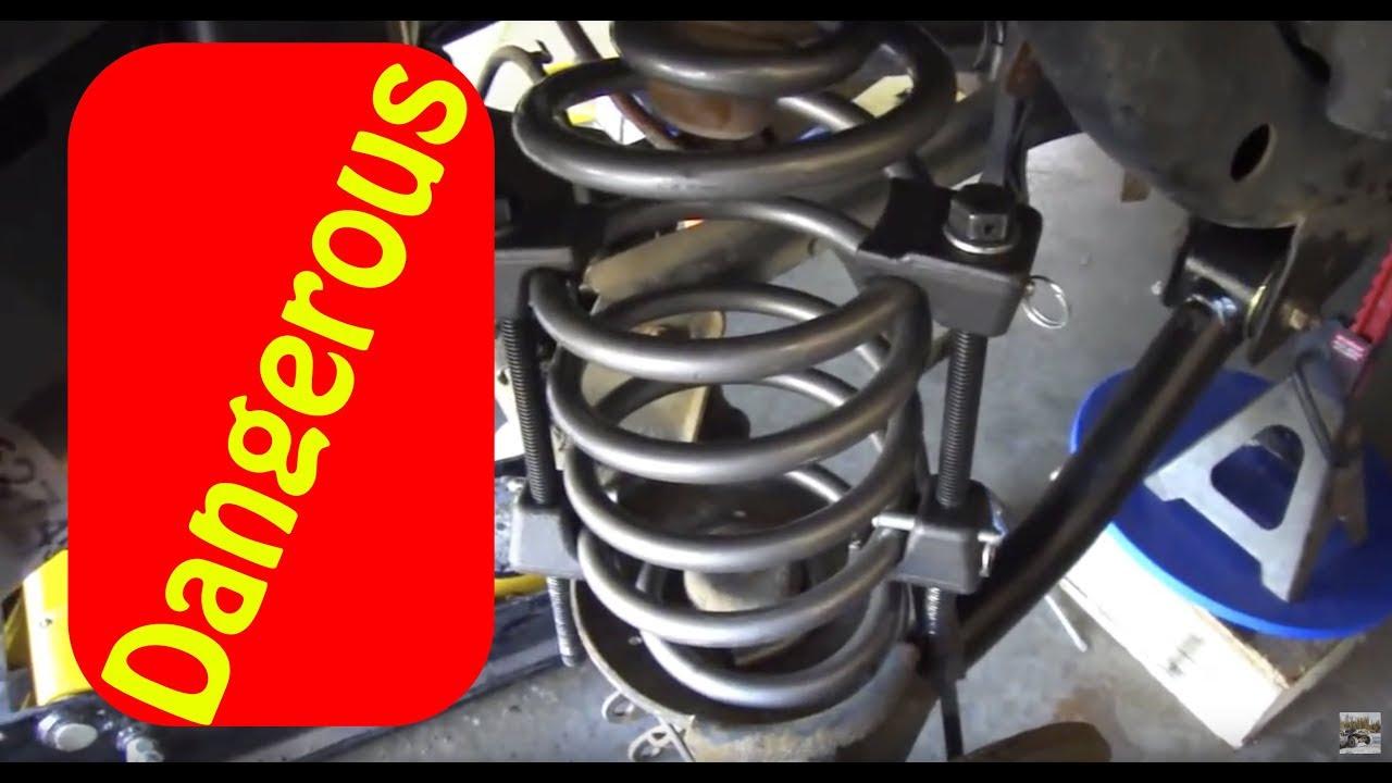 Diy How To Use A Spring Compressor Safely