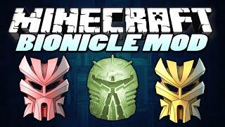 "Minecraft Mods | BIONICLE MOD! | ""Powerful Masks & Weapons"" | Minecraft Mods (Minecraft 1.7.2)"