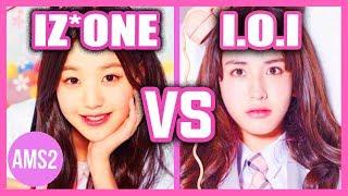 IZ*ONE VS I.O.I (VOCAL, DANCE, RAP, VISUAL & MORE)