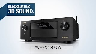 mqdefault denon avr x4200w i 7 2 channel bluetooth and wi fi a v receiver  at soozxer.org