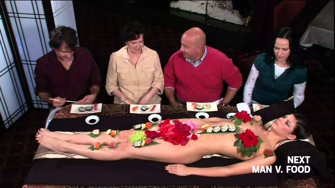 Sexy Sushi Presentation Youtube