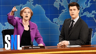 Weekend Update: Senator Elizabeth Warren - SNL