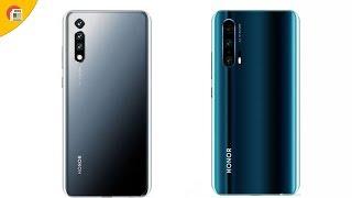 Honor 20 và 20 Pro xuất hiện nhiều công nghệ với 4 camera