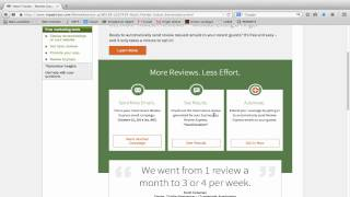 Increase online reviews on Tripadvisor