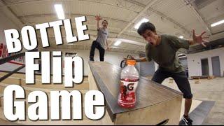 Game of BOTTLE FLIP!   Sam Tabor VS Ryan Bracken