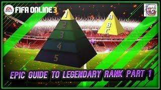 1v1 Legendary Rank Formation, Strategies, Tips and Tricks Part 1 - FIFA ONLINE 3 (ENGLISH)