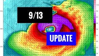 Hurricane Florence Forecast Update - 9/13