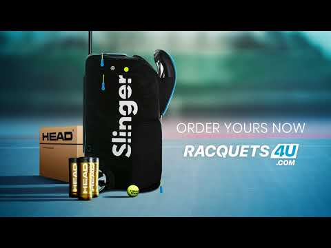 Slinger Bag India | Slinger Tennis Ball Machine | Racquets4u